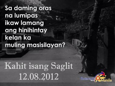 Rotaract's Kahit Isang Saglit poster