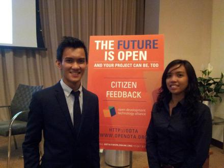 The Open Data launch at the World Bank