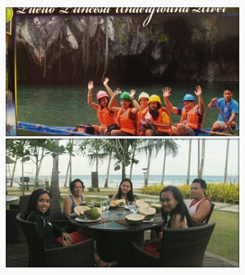 Family tour in Palawan