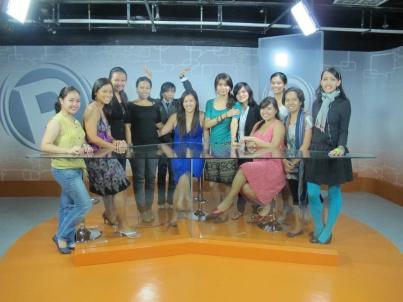 The girls of Communication for Social Change